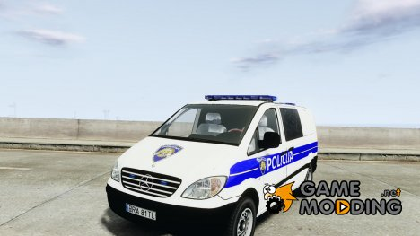 Mercedes Benz Viano Croatian police for GTA 4