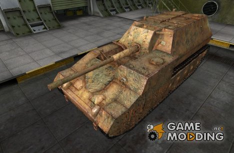 Шкурка для СУ-14 для World of Tanks
