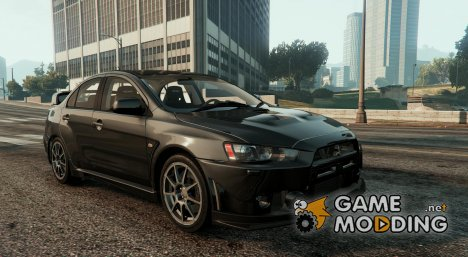 Mitsubishi Lancer Evolution X FQ-400 v2 for GTA 5