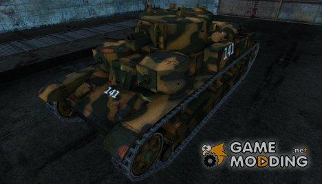 Шкурка для Т-28 for World of Tanks