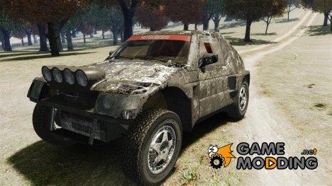 Mitsubishi Pajero Proto Dakar Винил 3 for GTA 4