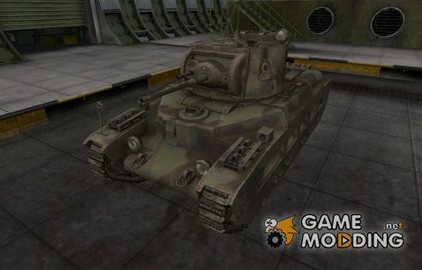 Пустынный скин для Matilda для World of Tanks