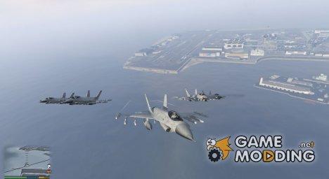 Воздушный флот v1.2 for GTA 5