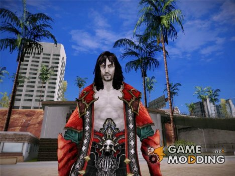 Dracula From Castlevania Lord of Shadows 2 for GTA San Andreas