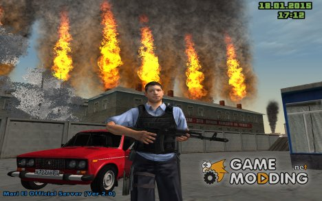 Инкасатор BETA 0.1 for GTA San Andreas
