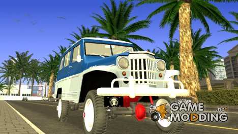 Jeep Station Wagon 1959 / Rural Willys для GTA San Andreas
