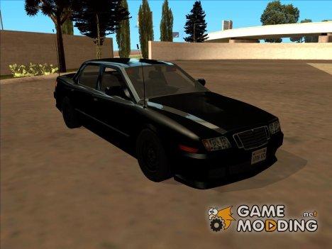 Машина полиции 2-го уровня розыска из NFS MW для GTA San Andreas