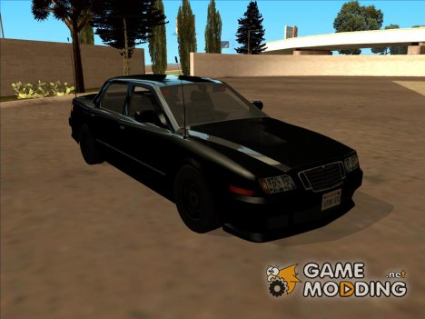 Машина полиции 2-го уровня розыска из NFS MW for GTA San Andreas