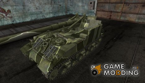 M40M43 (3 tone camo) for World of Tanks
