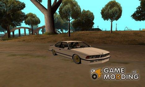 BMW M635 CSi E24 for GTA San Andreas