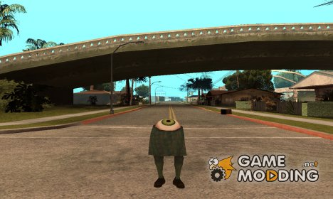 Существо из Алиен сити for GTA San Andreas