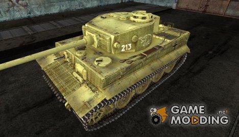 Шкурка для PzKpfw VI Tiger for World of Tanks