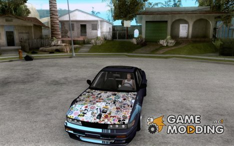 Nissan Sil180 JDM for GTA San Andreas