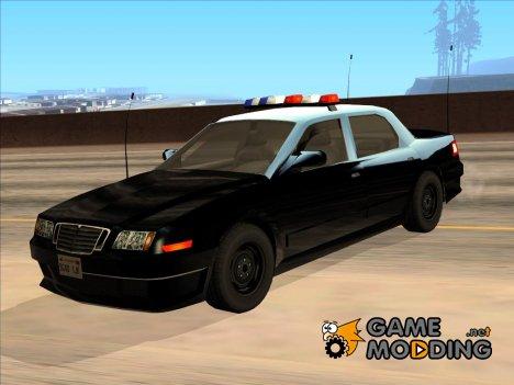 Машина полиции 2-го уровня розыска из NFS MW v2 for GTA San Andreas