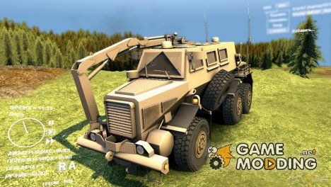 MRAP Buffalo v1.0 for Spintires DEMO 2013