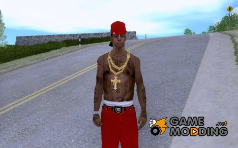 Lil Wayne ped for GTA San Andreas
