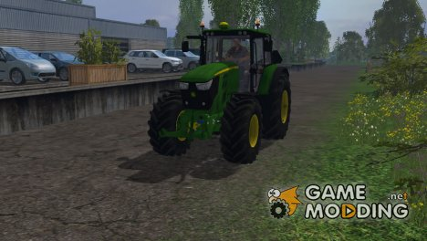 John Deere 6150M для Farming Simulator 2015