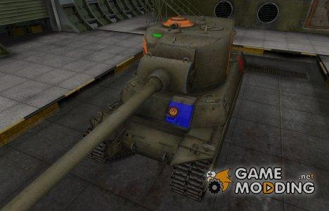 Качественный скин для M6A2E1 for World of Tanks