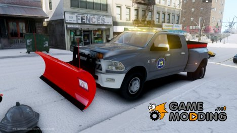 Dodge Ram 3500 Plow Truck for GTA 4