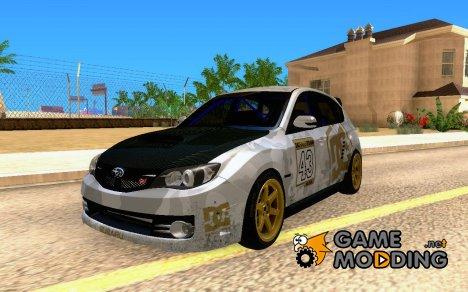 Subaru 4WD 2008 for GTA San Andreas