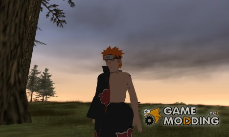 Пэйн из Наруто HD (во время боя с Наруто) для GTA San Andreas