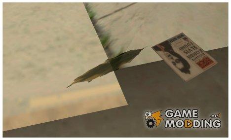 Мусор на дорогах как в GTA VC (или GTA 3) v3 - Final for GTA San Andreas