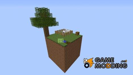 Летающий блок выживания для Minecraft