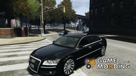 Audi A8L W12 for GTA 4
