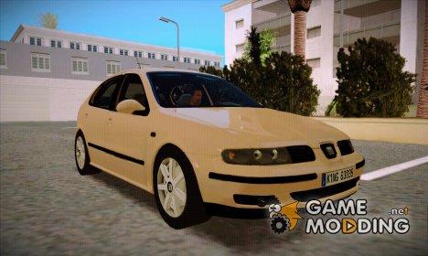 Seat Leon 1.9 TDI for GTA San Andreas