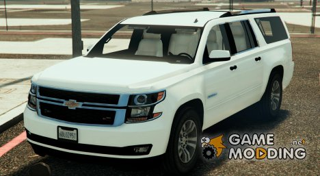 Unmarked Police Suburban 0.01 for GTA 5