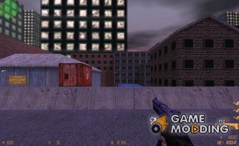Blue, White, And Black USP для Counter-Strike 1.6