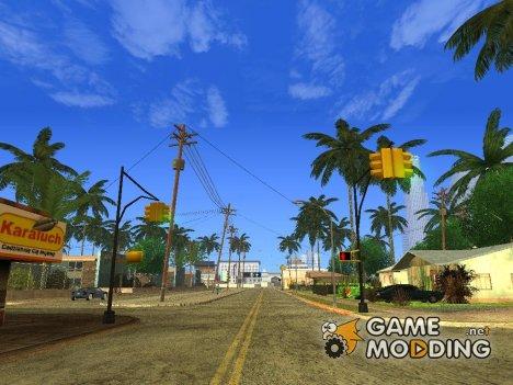 Super Timecyc v3 для одиночной игры for GTA San Andreas