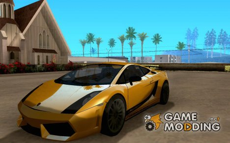 Underground Racing Lamborghini Gallardo V2.0 for GTA San Andreas