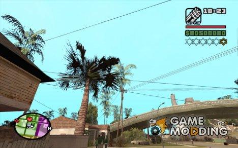 Новые звезды для худа №7 для GTA San Andreas