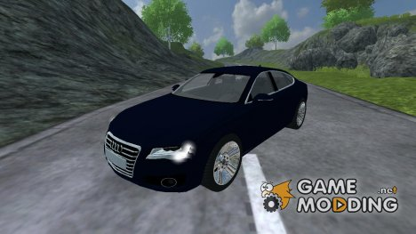 Audi A7 for Farming Simulator 2013