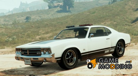 Police Sabre GT 0.01 for GTA 5
