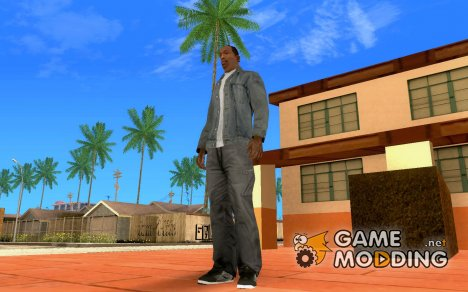 Black Adio Shoes для GTA San Andreas