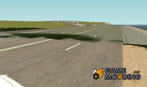 Достроенная дорога для Криминальной России for GTA San Andreas