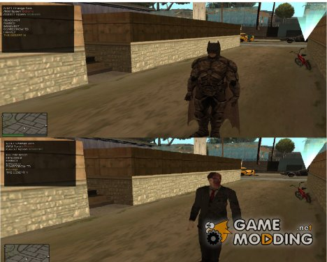 DC герои и злодеи V1 for GTA San Andreas