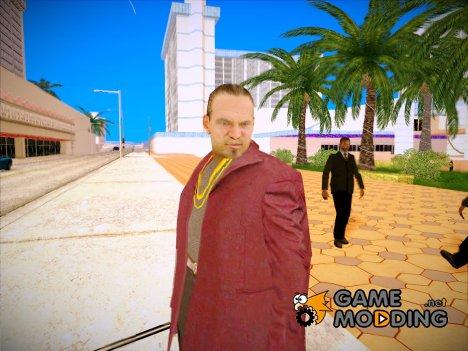 Бандит в малиновом пиджаке для GTA San Andreas