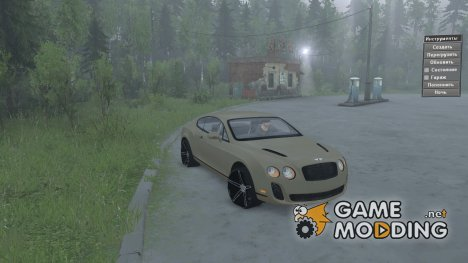 Bentley Continental SS 2010 для Spintires 2014