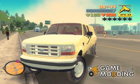 Ford F-350 XLT Double Cab 1994 для GTA 3