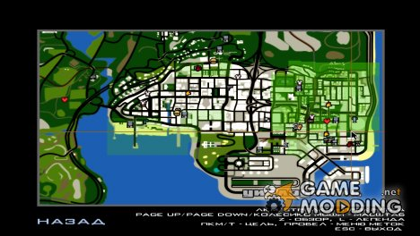 Remaster Map v1.1 for GTA San Andreas