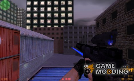 TMP TACTICAL ON PLATINIOX'S ANIMATION for Counter-Strike 1.6