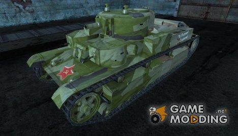 Т-28 CkaHDaJlucT for World of Tanks