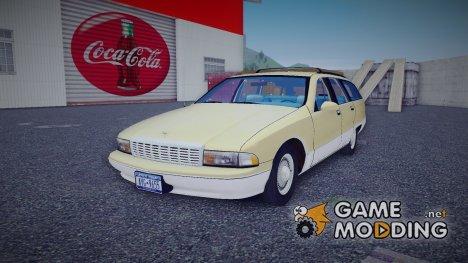 Chevrolet Caprice Wagon 1992 для GTA 3