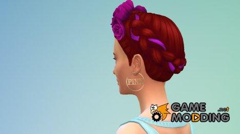 Серьги № 25 for Sims 4