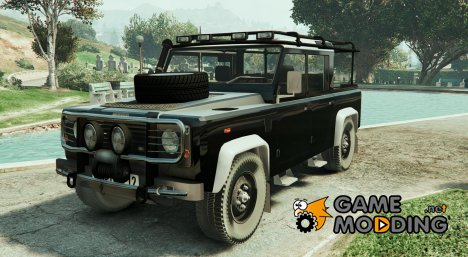 Land Rover Defender 110 Pickup for GTA 5