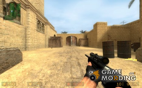 Chrome Scout for Counter-Strike Source