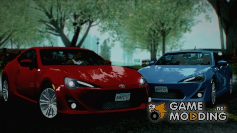 Toyota GT86 2013 Stock version for GTA San Andreas